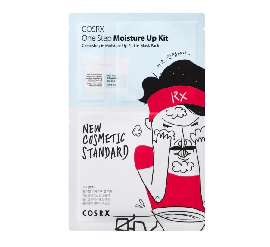 Трехшаговый набор для очищения и увлажнения кожи COSRX One Step Moisture Up Kit - фото 11558