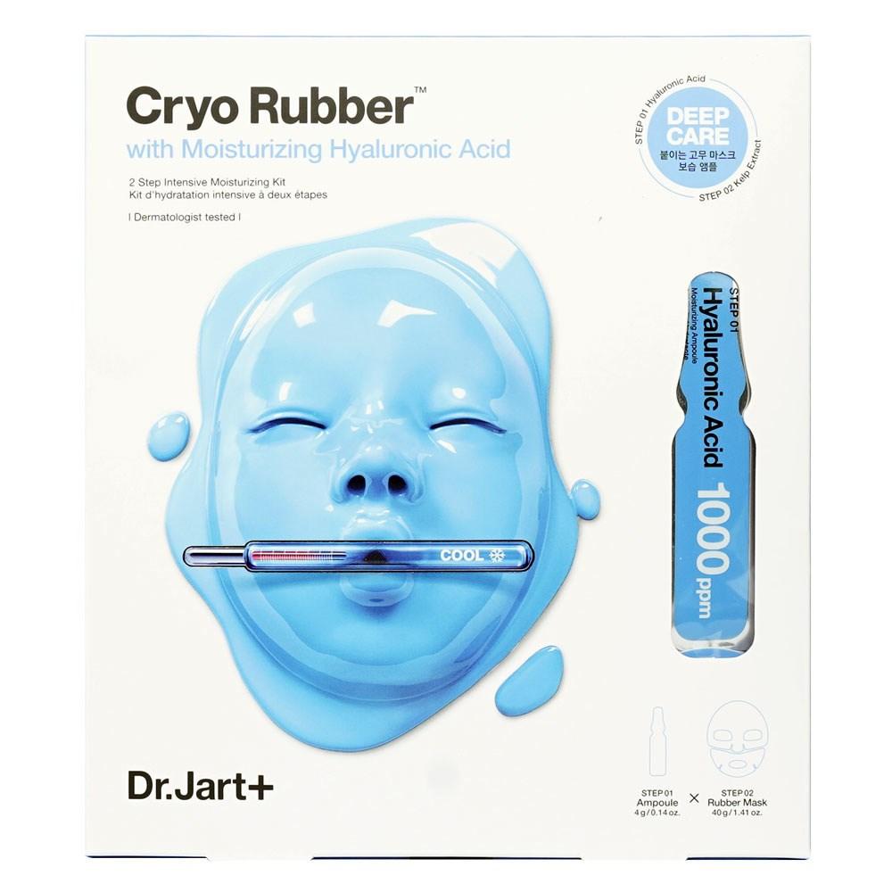 Альгинатная маска с гиалуроновой кислотой Dr. Jart+ Cryo Rubber with Moisturizing Hyaluronic Acid (4g+40g) - фото 11582