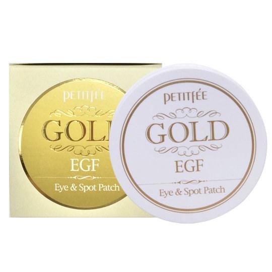 Омолаживающие гидрогелевые патчи для глаз EGF и золото PETITFEE Gold & EGF Eye & Spot Patch - фото 4486