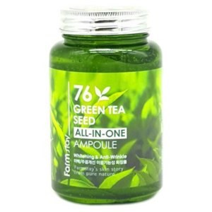 Многофункциональная ампульная сыворотка с зеленым чаем Farmstay 76 Green Tea ALL-IN ONE AMPOULE 250 ml - фото 5261