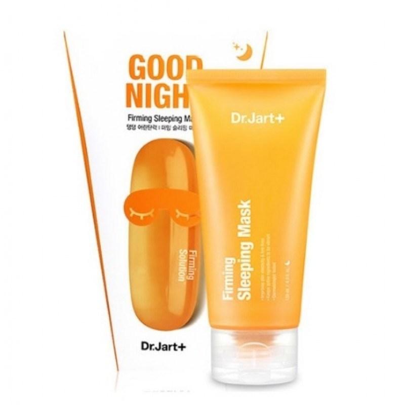 Укрепляющая ночная маска с морским коллагеном для повышения упругости кожи Dr.Jart+ Good Night Firming Sleeping Mask 120ml - фото 5476