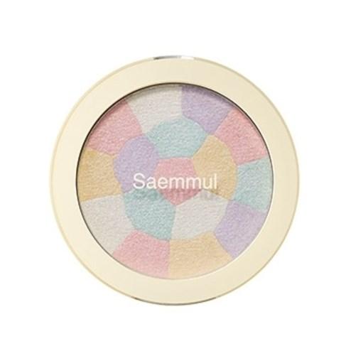 Хайлайтер минеральный The Saem Saemmul Luminous Multi Highlighter 01. Pink White - фото 6258