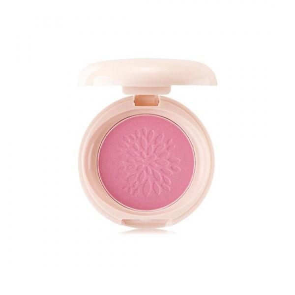 Румяна стойкие мерцающие The Saem Saemmul Smile Bebe Blusher 03 Bling Pink(N) 6гр - фото 6264