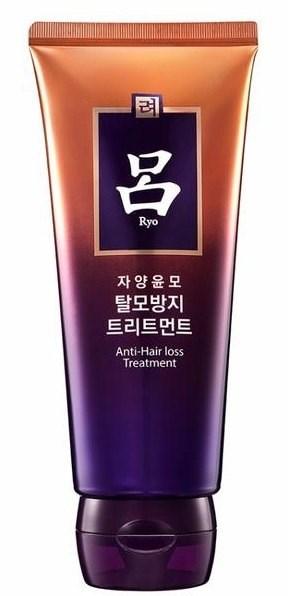 Лечебно-восстанавливающая маска с женьшенем и маслом Камелии Ryoe Jayangyunmo Anti Hair Loss Treatment (От выпадения волос) 200 мл - фото 6396