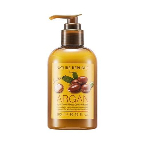 Кондиционер для волос восстанавливающий с арганой Nature Republic Argan Essential Deep Care Conditioner - фото 6550