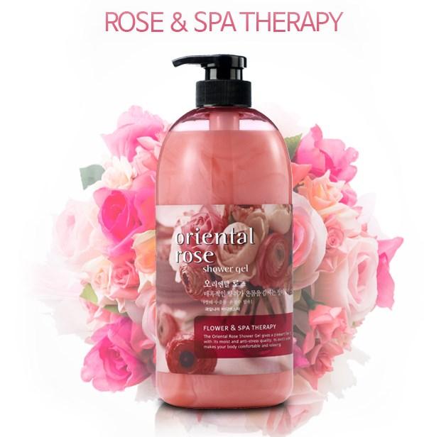 Гель для душа Welcos Body Phren Shower Gel (Oriental Rose) 732ml - фото 6619