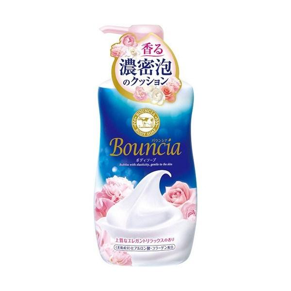 """Сливочное жидкое мыло COW """"Bouncia"""" для рук и тела с элегантным ароматом роскошного белого мыла 550мл - фото 6639"""