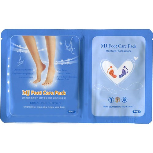 Маска для ног с гиалуроновой кислотой Mj Care Foot Care Pack - фото 6759