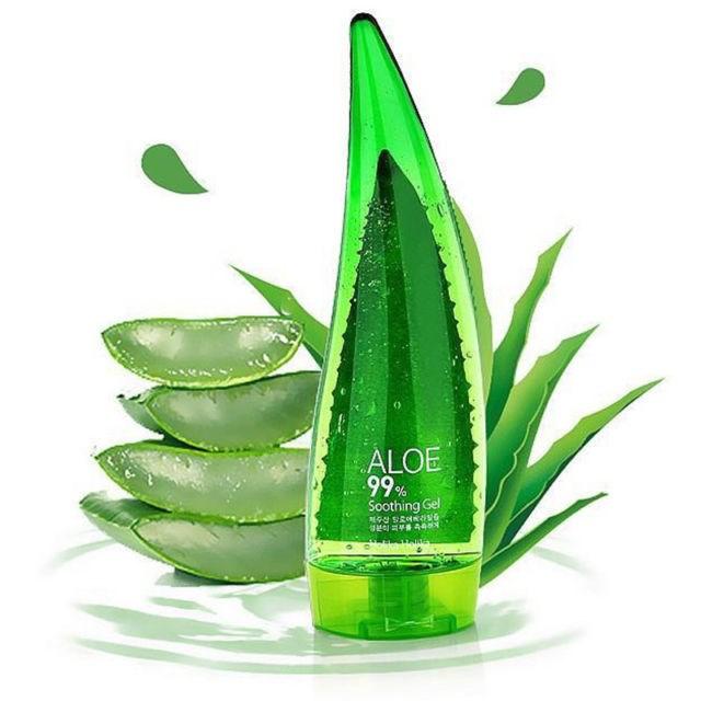 Универсальный гель с алоэ Holika Holika aloe 99% soothing gel 250ml - фото 6857