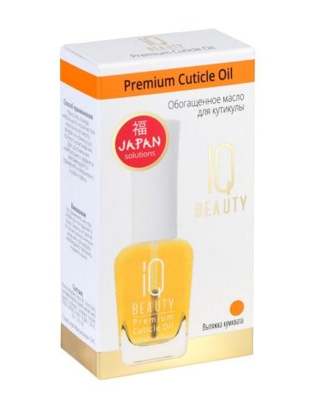 Обогащённое масло для кутикулы IQ BEAUTY Japan Solutions Premium Cuticle Oil 12,5 мл - фото 6917