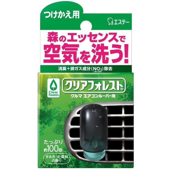 Сменный флакон в освежитель воздуха для автомобильного кондиционера ST (с натуральным маслом пихты) 7мл - фото 7668