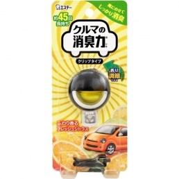 Гелевый ароматизатор для кондиционера автомобиля ST Shoshu RIKI аромат цитрусовых 3,2мл - фото 7688