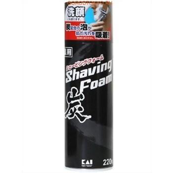 Пена для бритья и умывания с углем KAI YCSF-220 g - фото 7695
