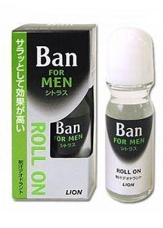 """Мужской классический освежающий роликовый дезодорант-антиперсп. """"Ban Roll On"""" аромат цитрусовых 30мл - фото 7732"""