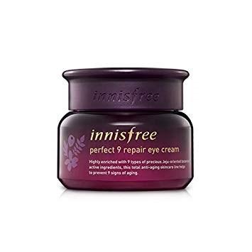 Омолаживающий крем для век от 9 признаков старения INNISFREE Perfect 9 Repair Eye Cream 30ml - фото 7888