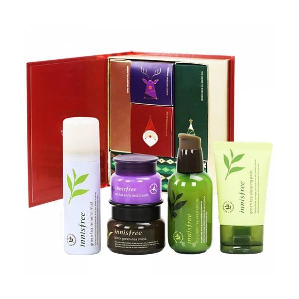 Подарочный набор лучших средств Innisfree Winter Skin care puzzle collection - фото 7926