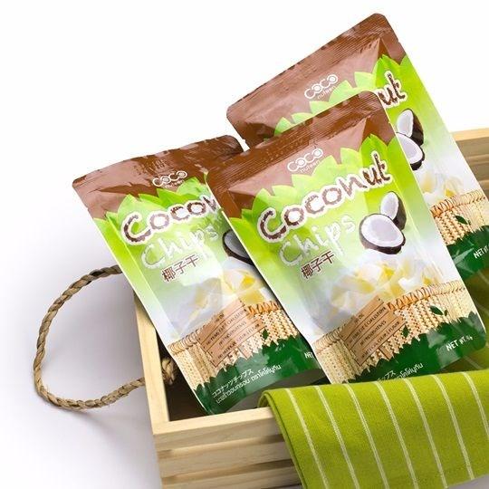 Чипсы кокосовые COCONUTEEN 40 г - фото 8262