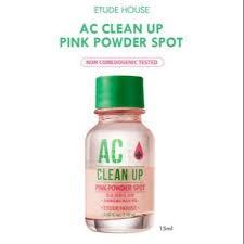 Точечное средство для борьбы с акне Etude House AC Clean Up Pink Powder Spot 15ml - фото 8393