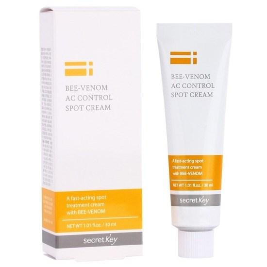 Точечный крем для проблемной кожи с пчелиным ядом Secret Key Bee Venom AC Control Spot Cream - фото 8754