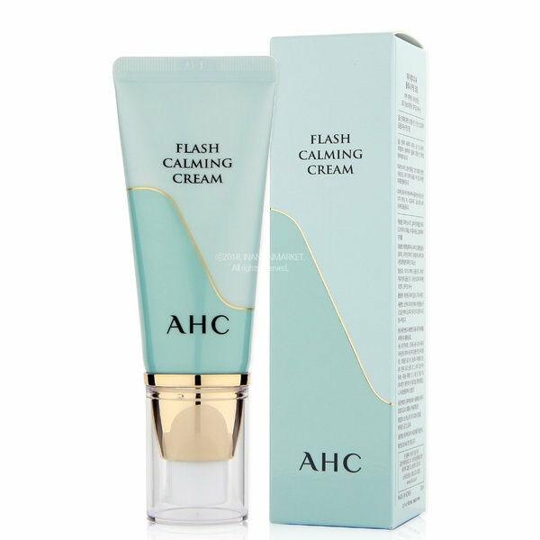 Осветляющий крем для лица AHC Flash CALMING Cream SPF30 30мл - фото 8842