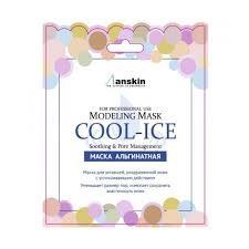 Альгинатная маска для уставшей, раздраженной кожи Anskin Cool-ice 25г - фото 9371