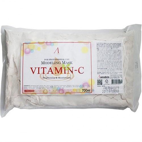 Маска альгинатная с витамином С Anskin Vitamin C Modeling Mask (Refill) 240g - фото 9728
