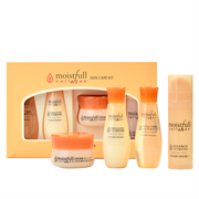 Набор миниатюр с коллагеном Etude House Collagen Moistfull skin care kit (toner20ml emulsion 20ml essence15ml cream10ml)