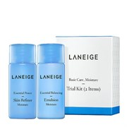 Увлажняющие балансирующие тонер и эмульсия для сухой и нормальной кожи Laneige Moisture Power Essential Skin Refiner and Balancing Emulsion 25ml+25ml