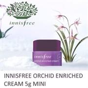 Крем для лица антивозрастной с экстрактом орхидеи Innisfree Jeju Orchid Enriched Cream 5ml