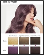 Краска для волос Etude House Hot Style Bubble Hair Coloring 10PP Ash Violet
