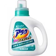 """Концентрированный высокоэффективный био-гель для стирки KAO """"Attack"""" Bio EX Gel, аромат эвкалипта 0,9kg бутылка"""