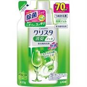 """🌸Гель для посудомоечных машин LION """"Cristal"""" с мятно-цитрусовым ароматом МУ 420г"""