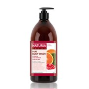Гель для душа NATURIA КЛЮКВА/АПЕЛЬСИН PURE BODY WASH (Cranberry & Orange) 750 мл