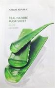 Тканевая маска для лица с экстрактом алоэ Nature Republic Real Nature Mask Sheet Aloe