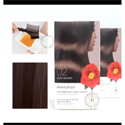 Краска для волос Innisfree Camellia Hair Color Cream #02 Deep Brown