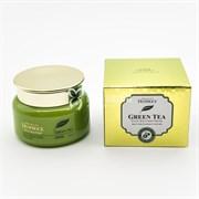 Крем на основе зеленого чая DEOPROCE GREEN TEA TOTAL SOLUTION CREAM 100мл
