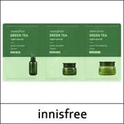 Набор пробников на основе семян зеленого чая INNISFREE Green Tea Night-Care Kit
