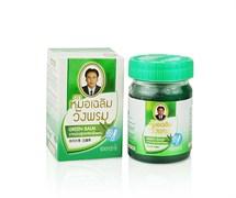 Зеленый тайский бальзам WANGPROM с клинакантусом 5 гр