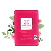 Целлюлозная тканевая маска с розовой водой Jayjun Rose Blossom Mask