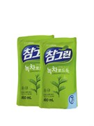 Средство для мытья посуды CJ LION Chamgreen - Зеленый чай 800ml