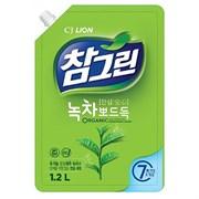 Средство для мытья посуды CJ LION Chamgreen - Зеленый чай 1200 ml