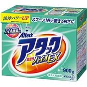 Порошок д стирки KAO Attack Bio EX цветочный аромат д белого и цветного д сушки в помещении (ручн. и маш.) (д хлопка, льна, синтетики) короб 900гр