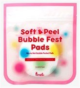 Очищающие салфетки PRRETI Soft & Peel Bubble Fest Pads 10pcs