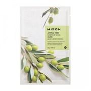 Тканевая маска с экстрактом оливы Mizon Joyful time Olive essence mask