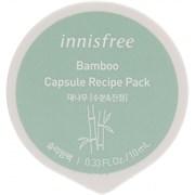 Капсульная увлажняющая успокаивающая ночная маска с бамбуком Innisfree Capsule Recipe Pack # Bamboo - Sleeping Pack