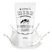 Маска для лица ночная осветляющая A'PIEU Fresh Mate Milk mask (Brightening)