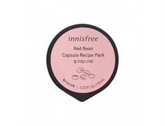Отшелушивающая смываемая скраб-маска с бобами красной фасоли Innisfree Capsule Recipe Pack #Red Bean - Wash Off Pack