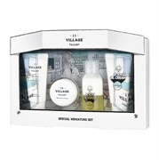 Набор средств для лица и тела Village 11 Factory Special Miniature Set (Cleansing Form+Cream+Body Oil Wash+Body Oil Cream)