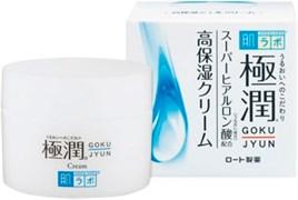 Легкий ночной крем с гиалуроновой кислотой HADA LABO Gokujyun 50г