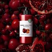 Очищающая антиоксидантная кислородная детокс маска-пенка Wonder Bath Super Vegitoks Cleanser Red 300ml